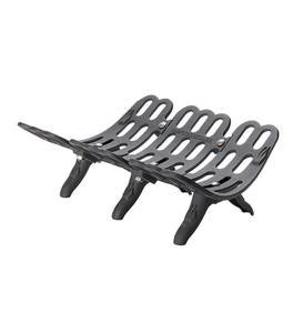 "Sampson Fireplace Grate, 22""W"