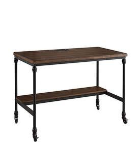 Rustic Weston Writing Desk With Built-In Charging Station