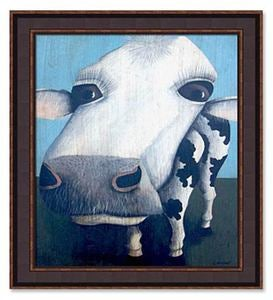 Cows' Framed Print by Tim Campbell