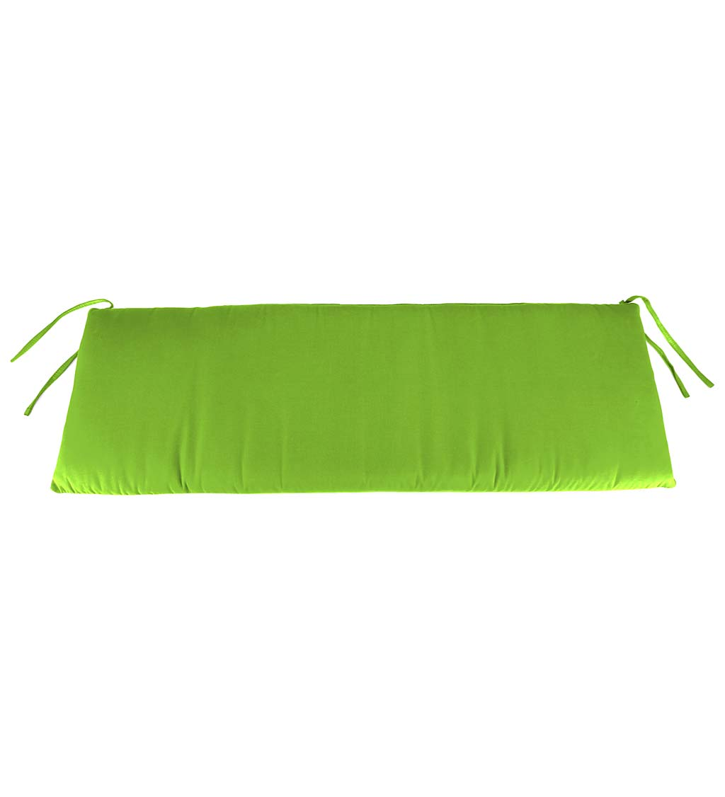 "Polyester Classic Swing/Bench Cushion, 47"" x 16""x 3"" swatch image"