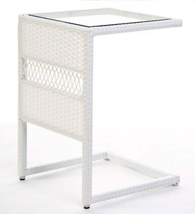 Easy Care All-Weather Wicker Pull-Up Table - Tan