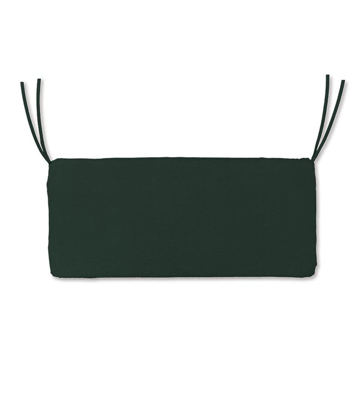 "Polyester Classic Swing/Bench Cushion, 41""x 20""x 3"" - Forest Green"