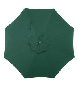 11' Deluxe Sunbrella™ Market Umbrella - Forest Green