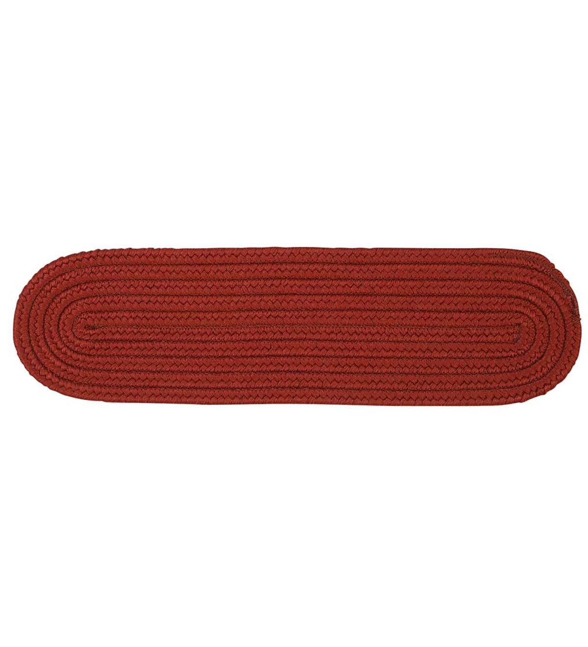 Oval Stair Tread - BRICK