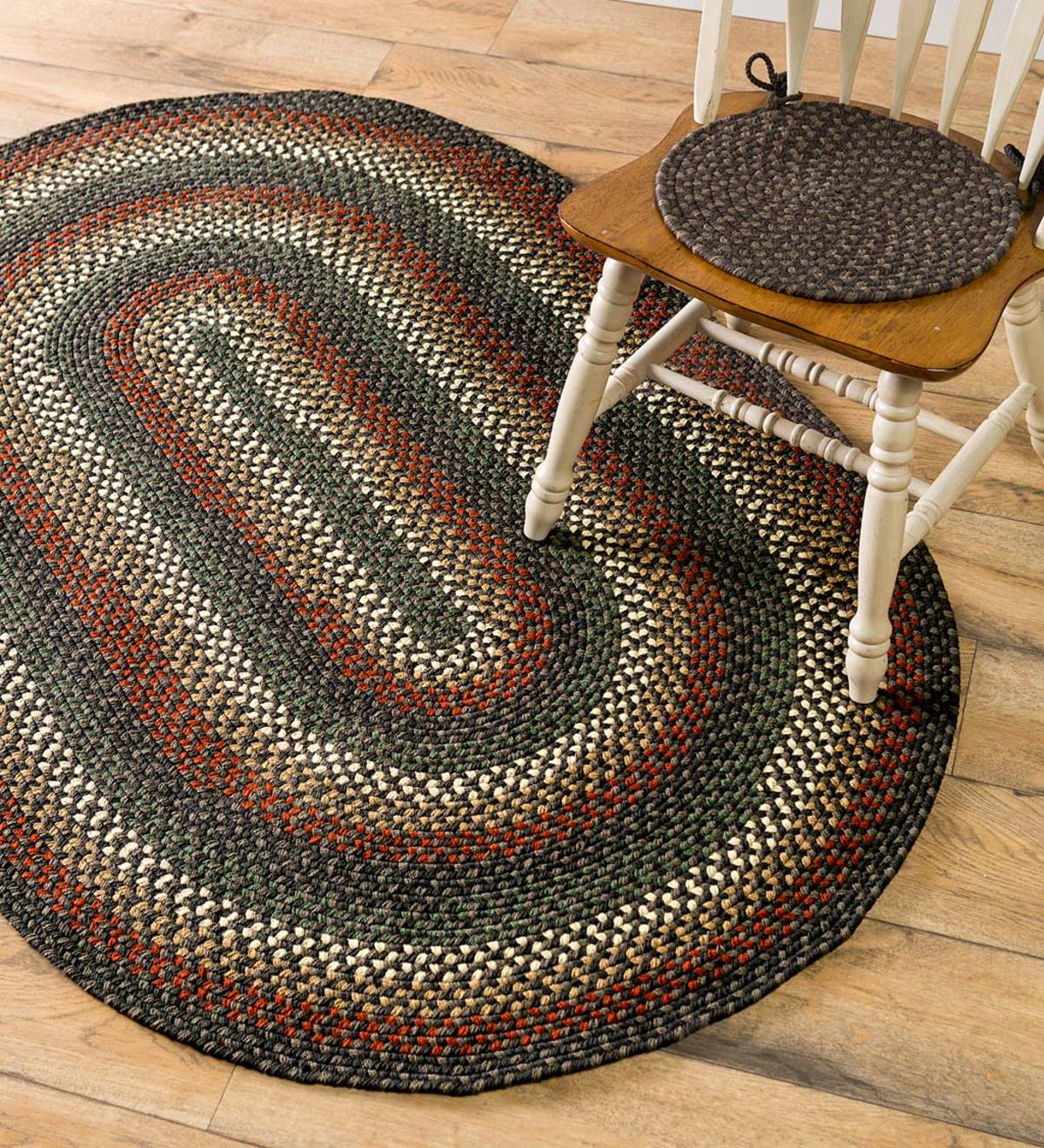 Indoor/Outdoor Braided Polypro Roanoke Rug, Made In USA