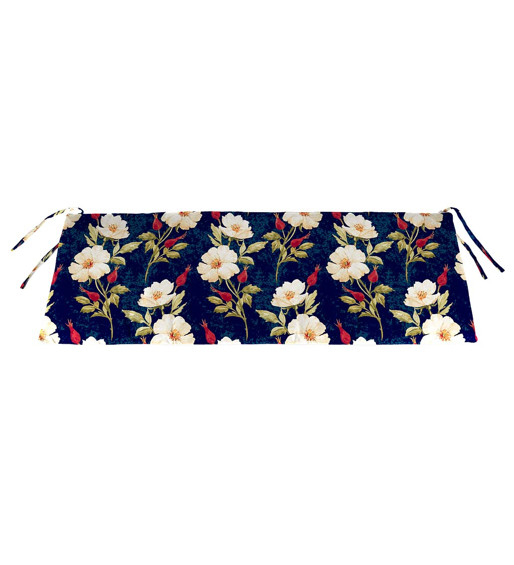 "Polyester Classic Swing/Bench Cushion, 47"" x 16""x 3"""