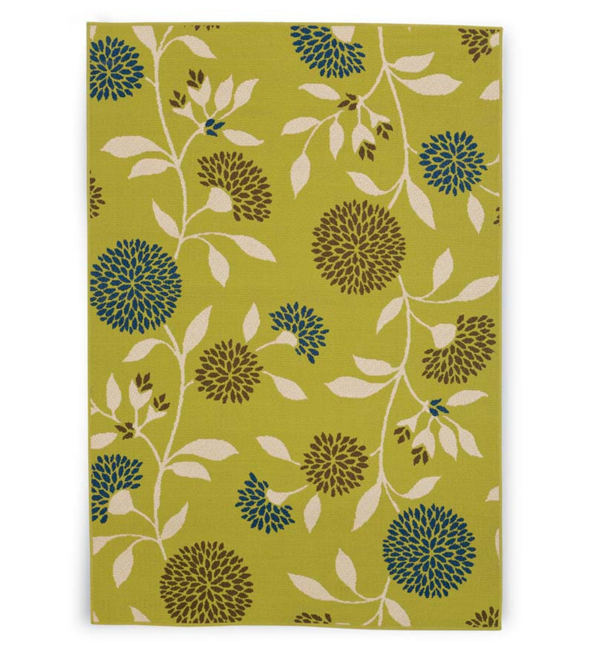 "Floral Surry Rug, 2'5""x 4'5"" - Green"