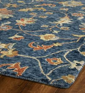 Carmona Denim Wool Rug, 2' x 3'