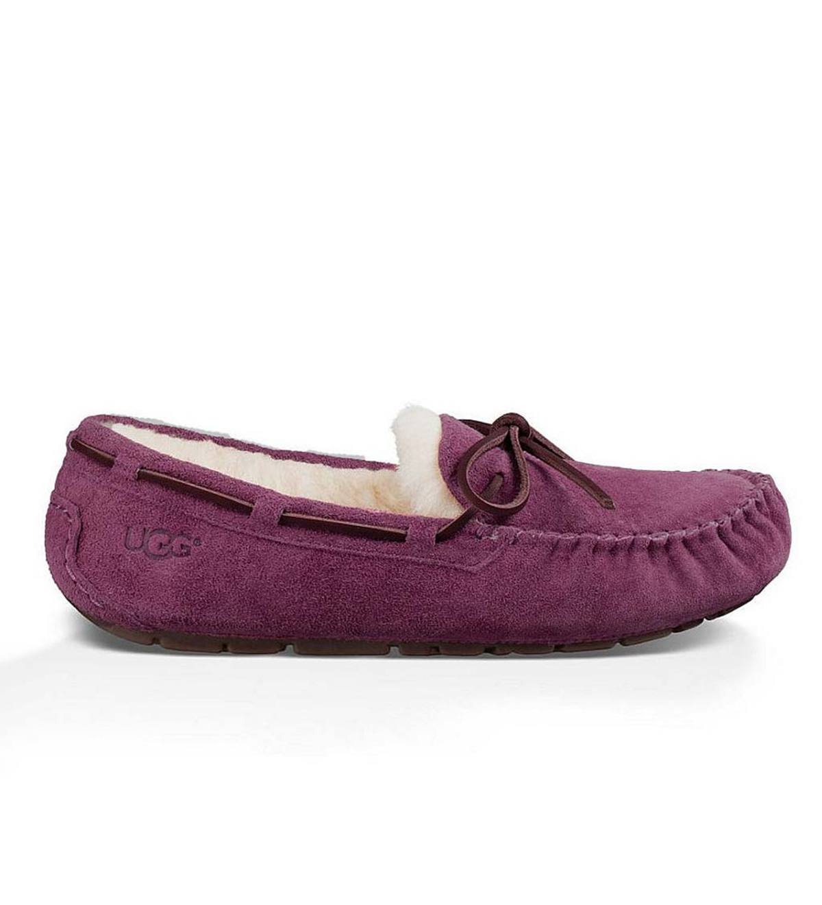 UGG Australia Womens Dakota Moccasin Slippers - Port - Size 5