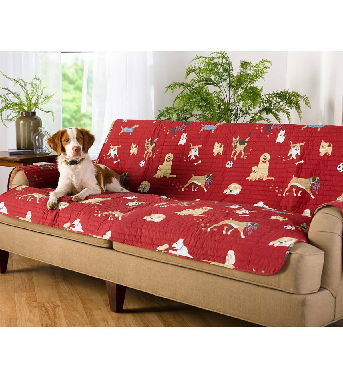 Protective Pet Sofa Cover, Dog Park Design