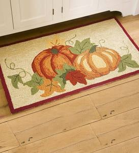 Pumpkins Indoor/Outdoor Accent Rug