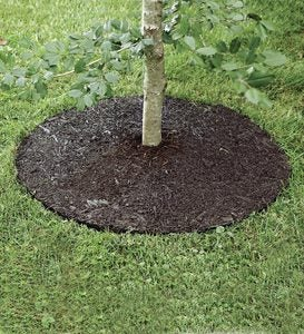 "36""Perma Mulch Recycled Rubber Tree Rings"
