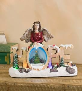 Holiday Hope Lighted Music Box