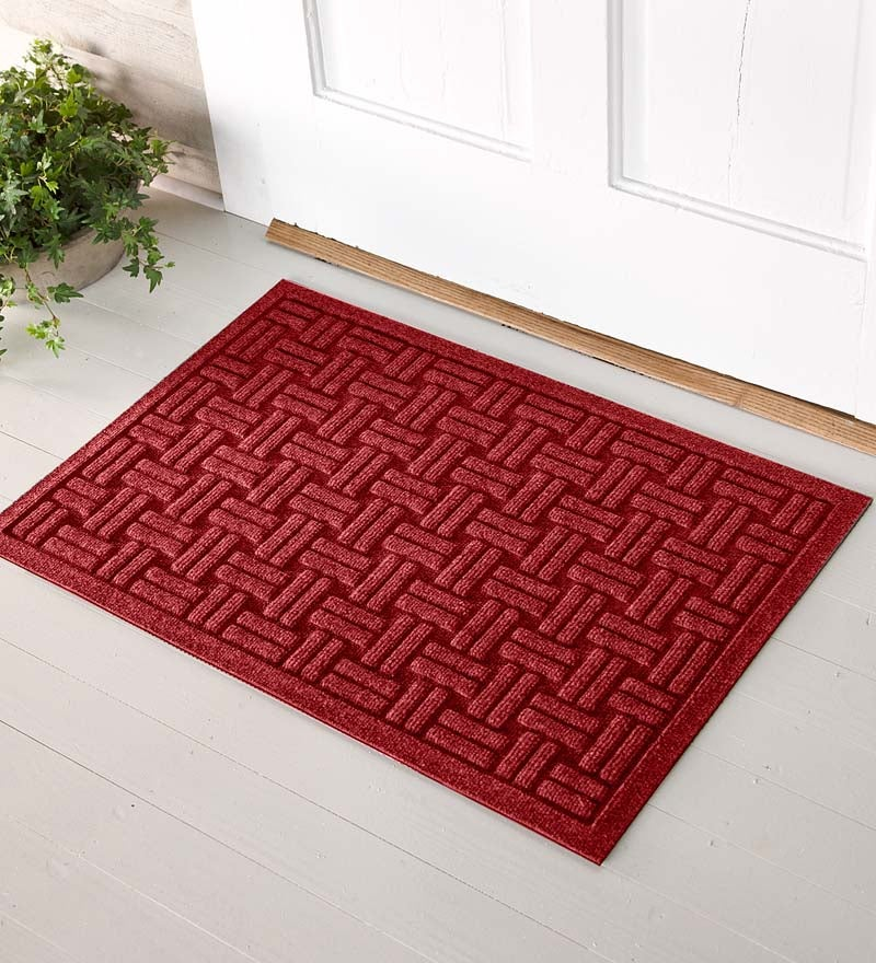 2 W X 3 L Medium Basketweave Waterhog Doormat