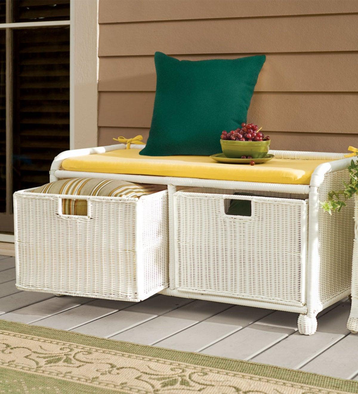 Polyester Classic Swing Bench Cushion 36 X 16 X 3