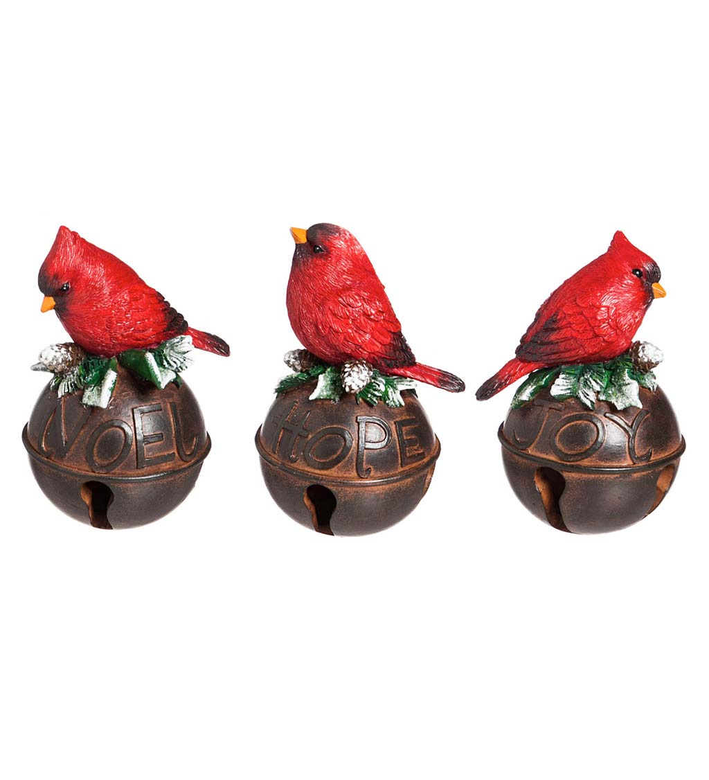 Cardinal Bells, Set of 3