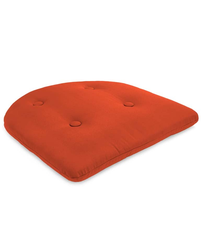 "Sunbrella® Classic Tufted Chair Cushion, 18½"" x 18"" x 3"""