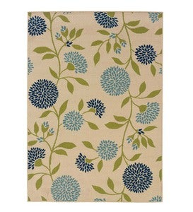 Floral Surry Indoor/Outdoor Polypropylene Area Rug