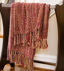 Lightweight Boucle Throw