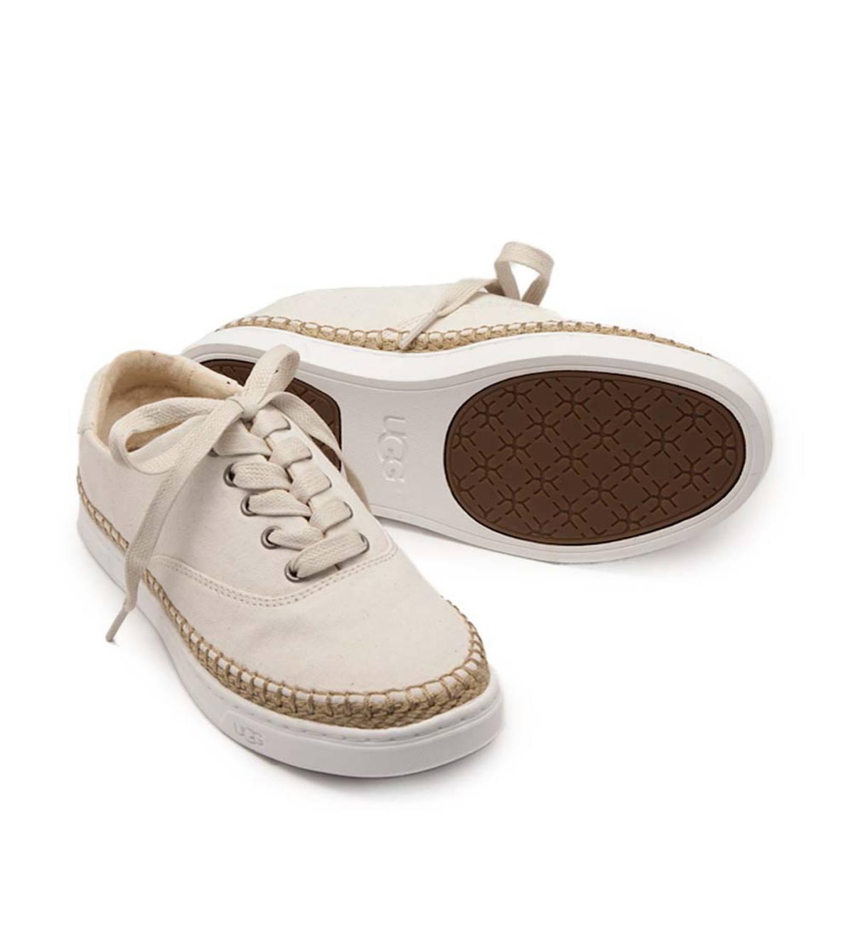 ef7c70cbd74 UGG Eyan II Canvas Lace-Up Shoe | PlowHearth