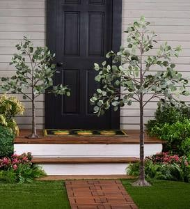 Indoor/Outdoor Electric Lighted Eucalyptus Trees