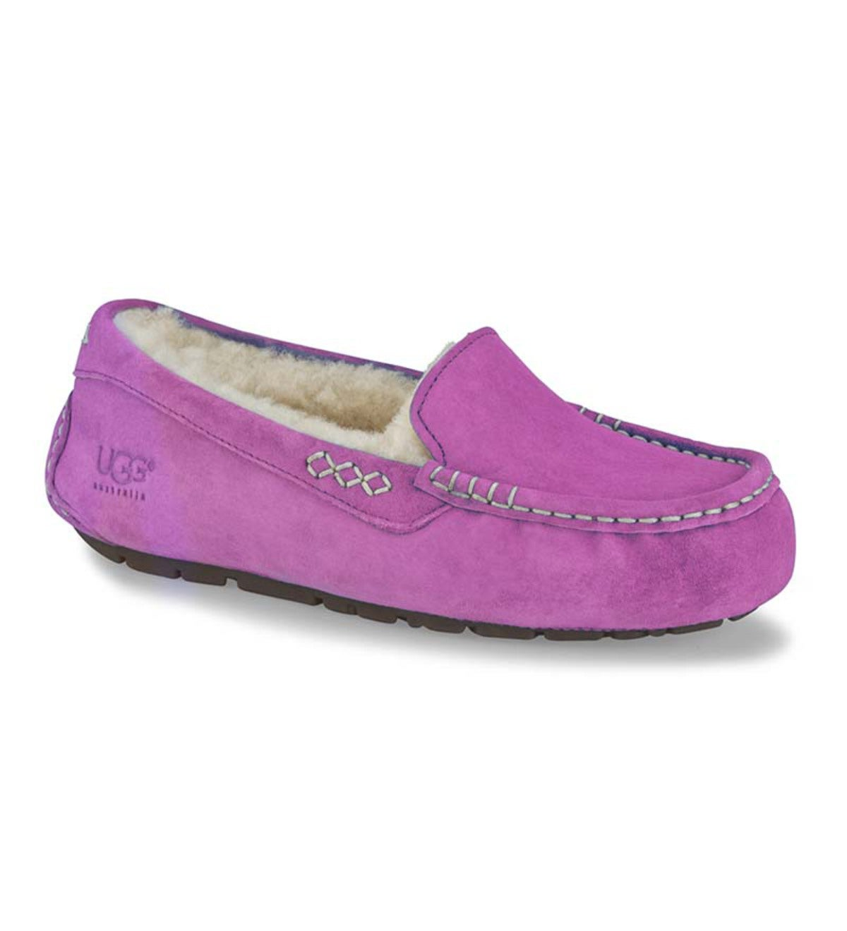 UGG Ansley Moccasin Slippers - Cactus Flower - Size 5