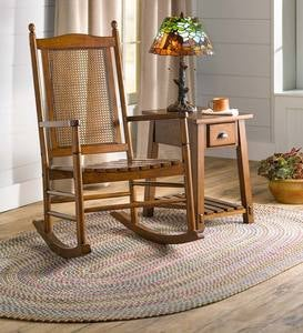 Berkley Birch Rocking Chair with Cane Back