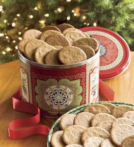 Nyakers Swedish Gingersnap Cookies In Gift Tin