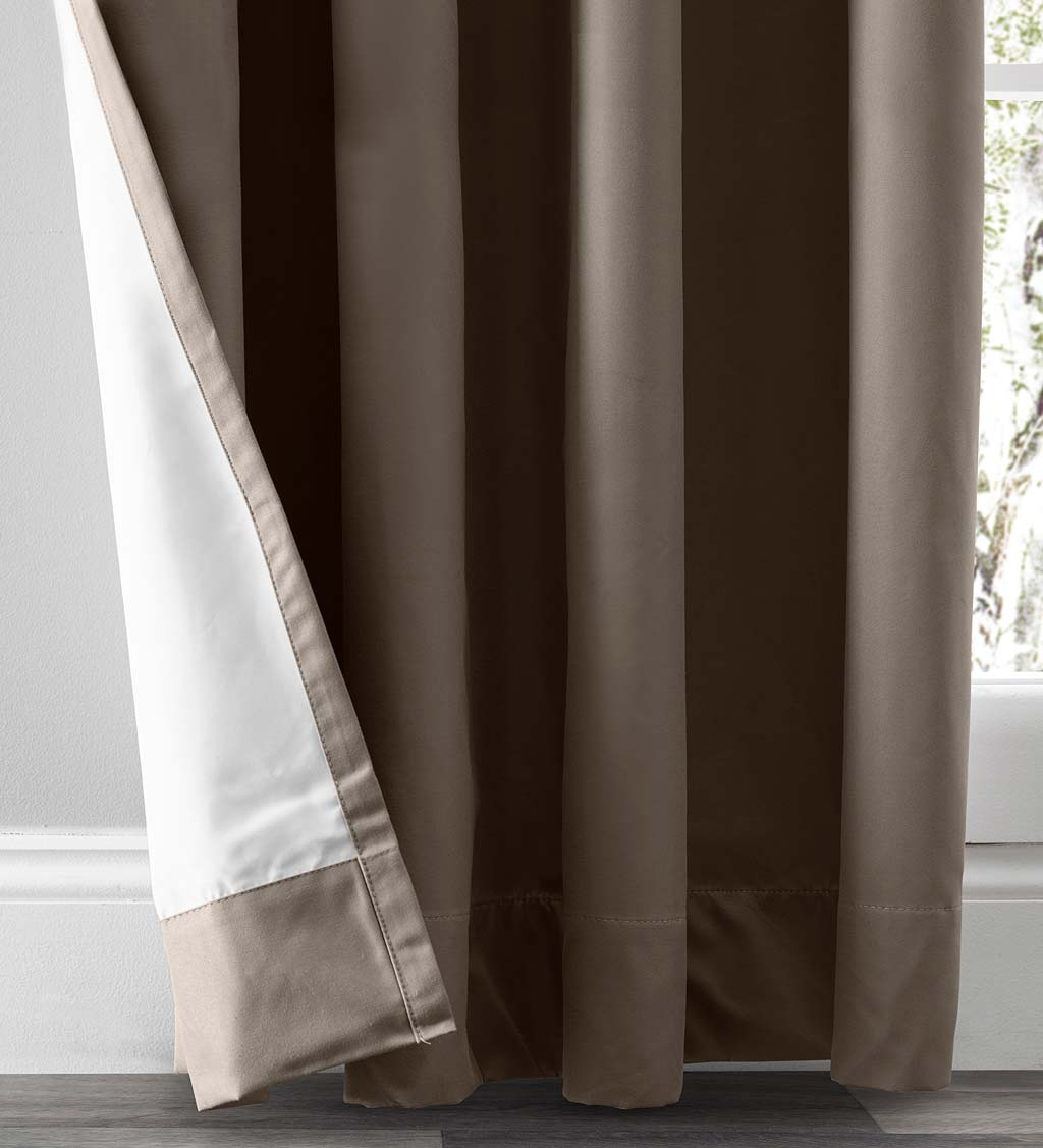Twilight Total Blackout Grommet Curtain Panel