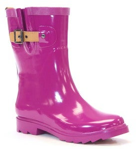 Chooka® Women's Shiny Mid-Calf Rain Boots