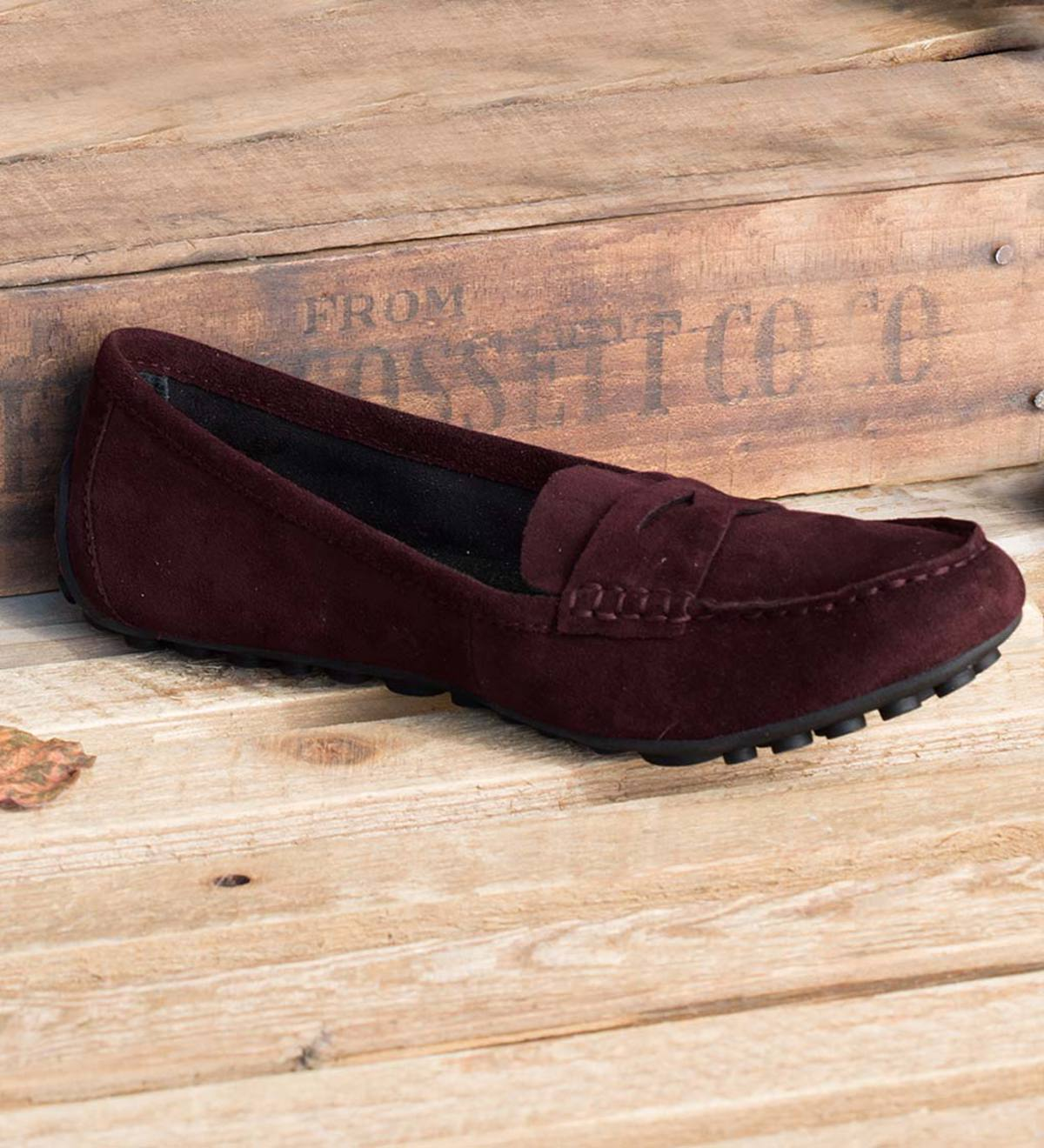 Born Malena Suede Driving Loafer