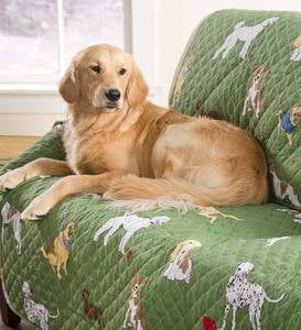 Pet Chair Cover in Bedtime Tails