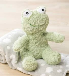 Plush Frog Stuffed Animal with Blanket Gift Set