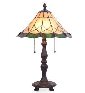 Marion Tiffany Stained Glass Table Lamp