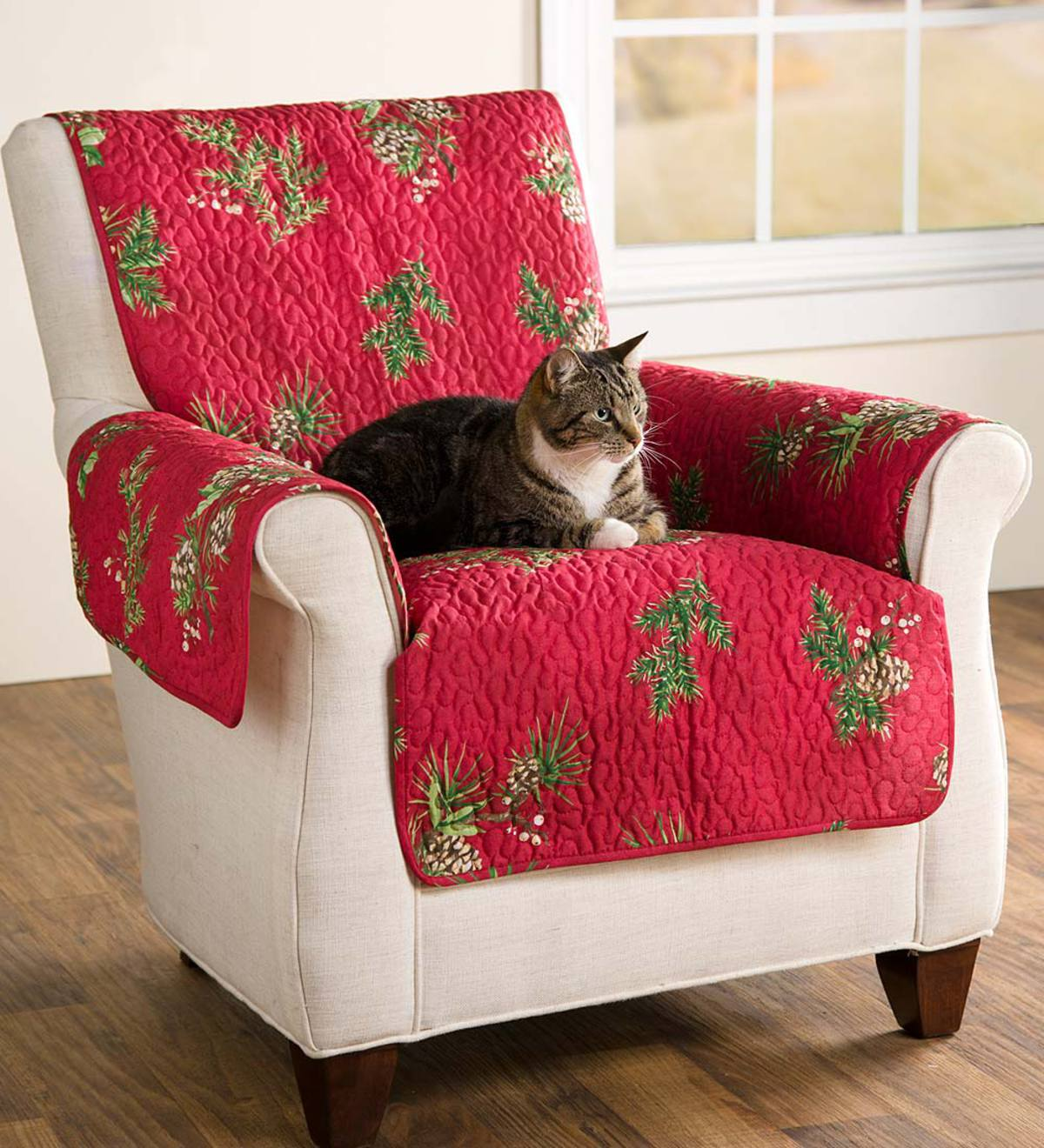 Pet Chair Cover, Peaceful Pine