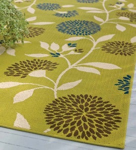 "Floral Surry Rug, 1'9""x 3'9"""