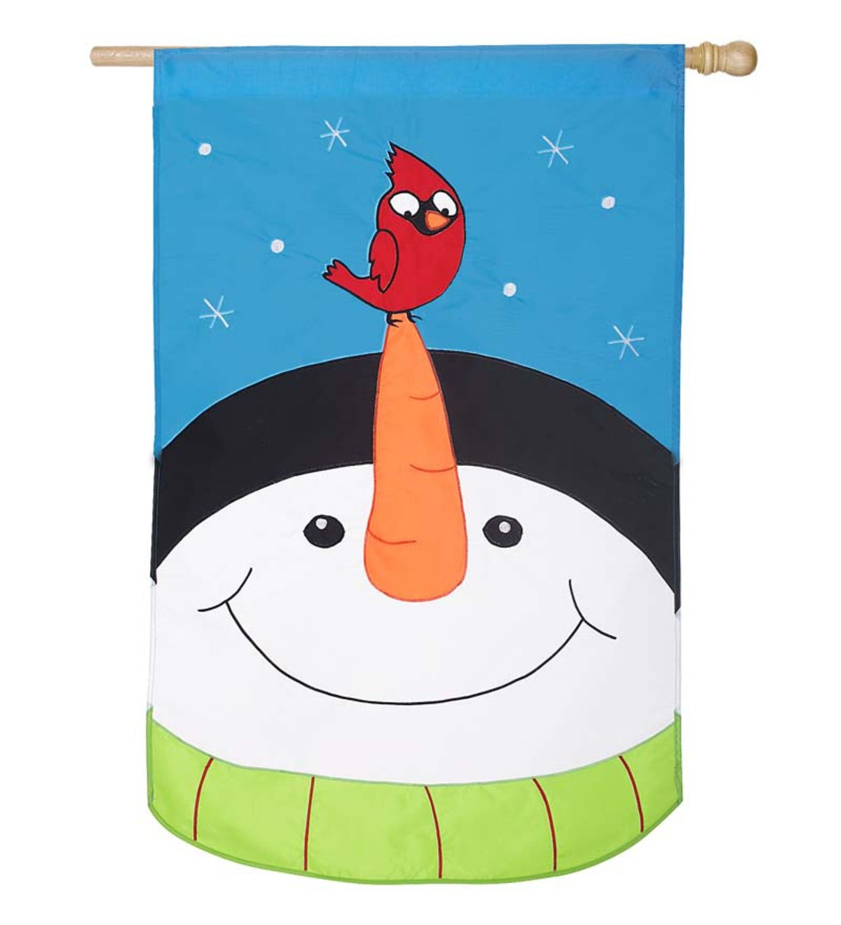 Snow Wonder Pals House Flag