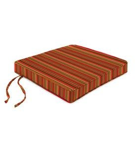 Deluxe Sunbrella Tapered Chair Cushions