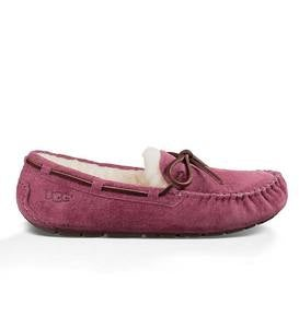 UGG Australia Womens Dakota Moccasin Slippers - Bougainvillea - Size 10