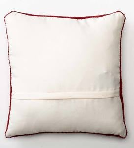 Indoor/Outdoor Lighted Holiday Hounds Pillow