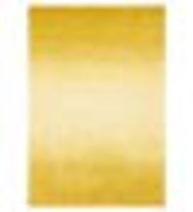 "Colorful Handmade 42""x 66""Wool Ombre Rug - Yellow"