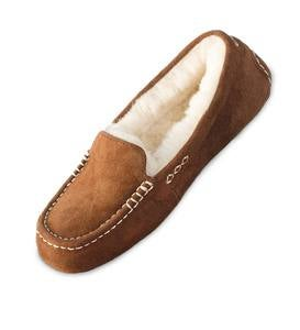UGG Ansley Moccasin Slippers - Tamarind - Size 9