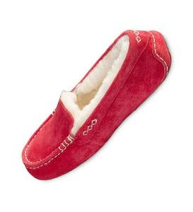 UGG Ansley Moccasin Slippers - Tango - Size 8