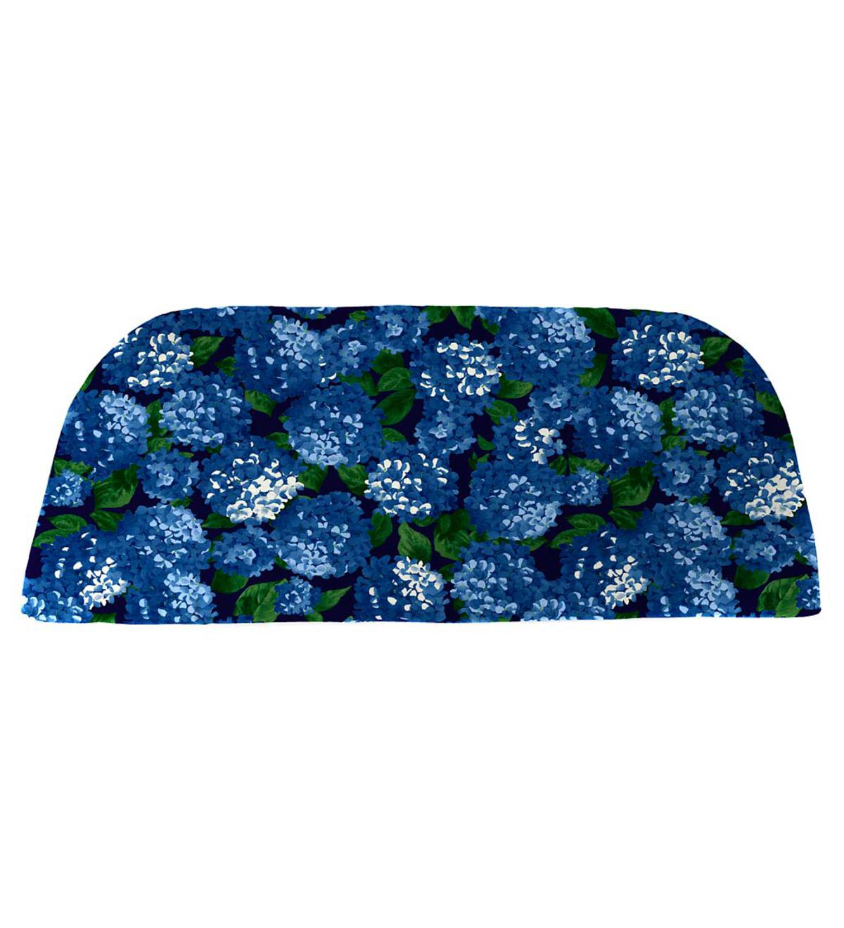 "Polyester Classic Swing/Bench Cushion, 41"" x 18¾"" x 3"" - Midnight Hydrangea"