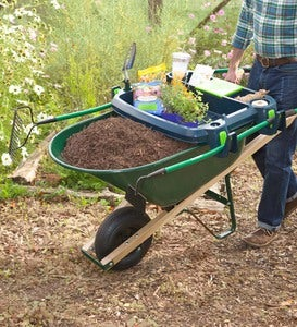 USA-Made Little Burro Garden Wheelbarrow Accessory