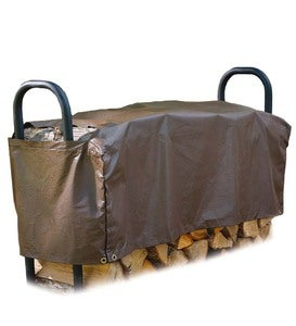"Medium Floating Log Rack Cover, 50""L x 24""W x 16""H"