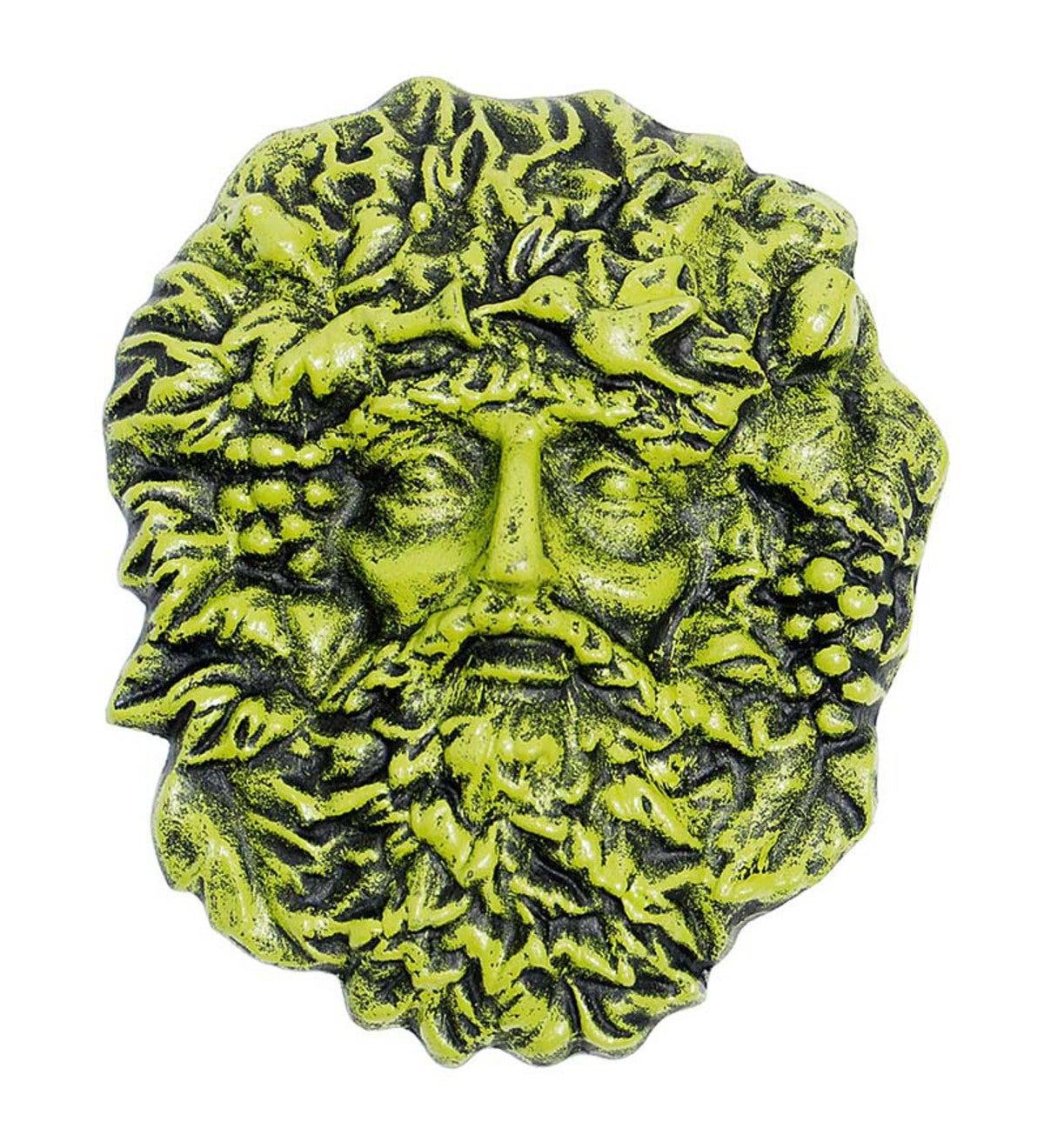 Cast Iron Green Man Wall Art