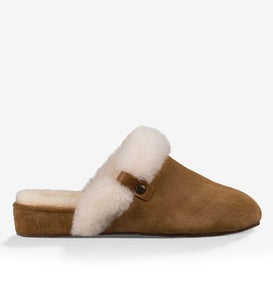 UGG Women's Elanor Suede Scuff Slippers
