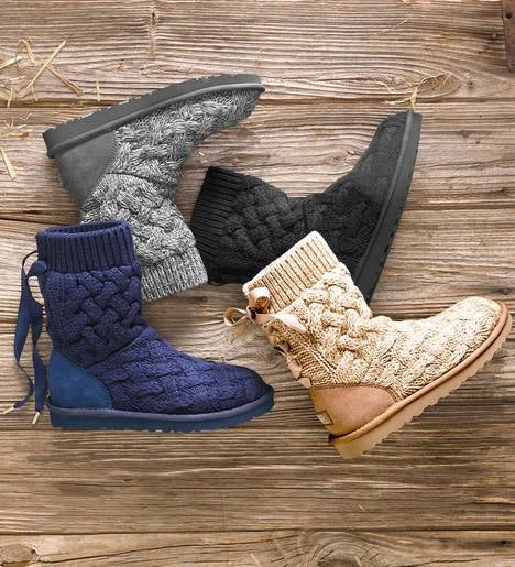 Ugg 174 Australia Isla Knit Boots Plowhearth