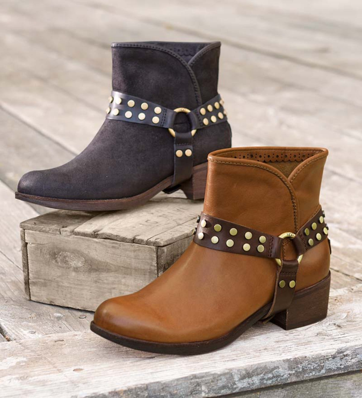 8095d77afd9 UGG Australia Darling Harness Women's Ankle Boot | PlowHearth